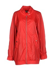 Soallure Coats And Jackets Jackets Women Red