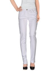 Frankie Morello Trousers Casual Trousers Women White