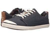 Reef Walled Low Black White Women's Lace Up Casual Shoes