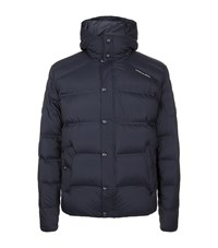 Porsche Design Hooded Down Jacket Male Navy