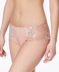 Lunaire Limoges Mesh And Lace Bikini 29732 Rosewood