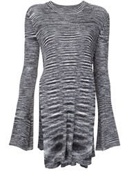 Ellery Side Slit Tunic Grey