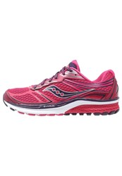 Saucony Guide 9 Stabilty Running Shoes Pink