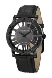 Stuhrling Men's Winchester Advanced Swiss Quartz Watch Black