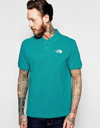 The North Face Polo Shirt With Logo Teal