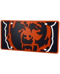 Stockdale Chicago Bears Printed License Plate Navy