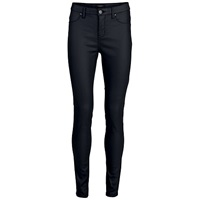 Selected Femme Gaia Coated Jeggings Black