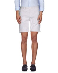 Incotex Trousers Bermuda Shorts Men White
