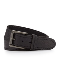 Will Leather Goods Men's Leather Jean Belt Black