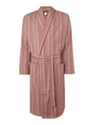 Paul Smith Lightweight Multistripe Robe Navy