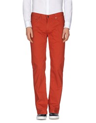 Baldessarini Trousers Casual Trousers Men Brick Red