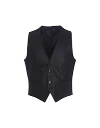 Pino Lerario Vests Dark Blue