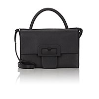 Maison Martin Margiela Women's Buckle Large Satchel Black Blue Black Blue