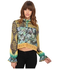Kas Nashida Top Multi Women's Clothing