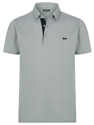 Wolsey Self Collar Pique Polo Grey