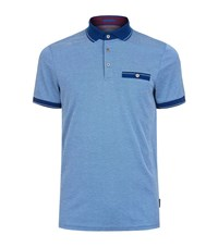 Ted Baker Soft Touch Polo Shirt Male Blue