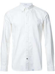 Bedwin And The Heartbreakers Classic Button Down Shirt White