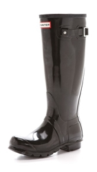 Hunter Original Tall Gloss Boots Black