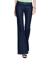 Polo Ralph Lauren High Rise Flared Jeans Blue