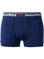 Dsquared2 Logo Boxers Blue