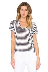 Feel The Piece Adriana Stripe Tee Navy