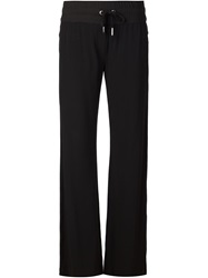Capobianco Straight Fit Loose Trousers Black