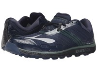 Brooks Puregrit 5 Dress Blues Duck Green Black Men's Running Shoes