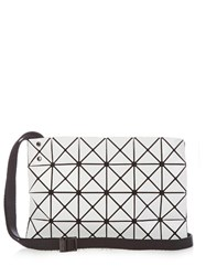Issey Miyake Lucent Basic Cross Body Bag White