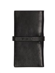 Isabel Benenato Smooth Leather Wallet