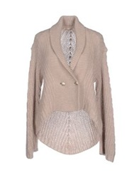 Paolo Pecora Cardigans Beige