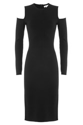 Michael Kors Collection Dress With Cut Out Shoulders Black