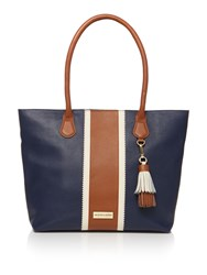 Dickins And Jones Harbury Tote Handbag Navy