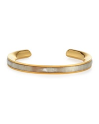Signature Skinny Bangle With Natural Horn Maiyet