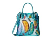 Anuschka 551 Floating Feathers Handbags Green