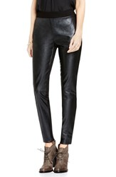 Vince Camuto Women's Two By Faux Leather And Ponte Leggings