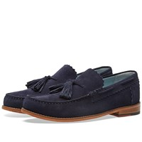 Grenson Grayson Tassel Loafer Blue