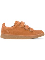 Jerome Dreyfuss Strap Detail Sneakers Brown