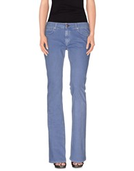 M.Grifoni Denim Denim Denim Trousers Women Slate Blue