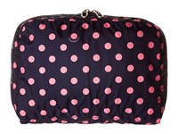 Lesportsac Luggage Xl Essential Cosmetic Sunshine Dot Pink Cosmetic Case Beige