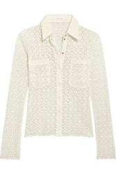 See By Chloe Lace Shirt White
