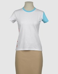 Murphy And Nye Topwear Short Sleeve T Shirts Women White
