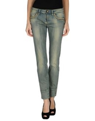 Plein Sud Jeanius Denim Pants Blue