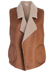 French Connection Winter Rhoda Gilet Indian Tan