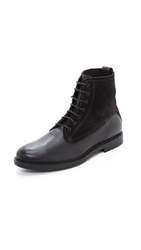 Fratelli Rossetti Suede Lace Up Boot