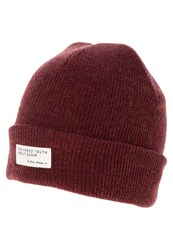 Nudie Jeans Liamsson Hat Burnt Red Bordeaux