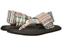 Sanuk Yoga Sling 2 Prints Citrus Lanai Blanket Women's Sandals Multi