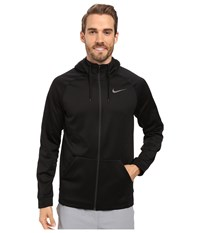 Nike Therma Full Zip Training Hoodie Black Black Men's Sweatshirt