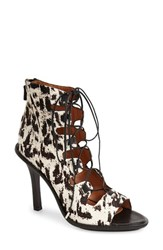Women's Derek Lam 10 Crosby 'Inga' Lace Up Sandal Natural Cheetah