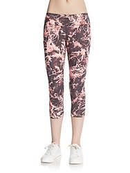 Calvin Klein Ruched Tie Dye Performance Leggings