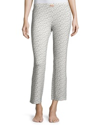 Eberjey Foxxy Printed Cropped Lounge Pants Foxtail